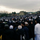 Thousands of mourners attend funeral of  Hazrat Hafiz Patel