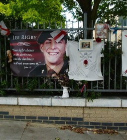 Lee Rigby was murdered in May 2013