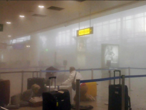 Attack at Airport in Brussels