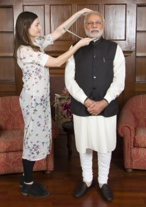 Narendra Modi sitting_Madame Tussauds 1