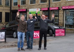 REGIONAL NEWS: Corrie's Kirk & Chesney at grand opening of new furniture store in Bradford