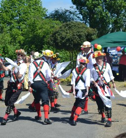 Whoever knew morris dancing could be so dangerous?
