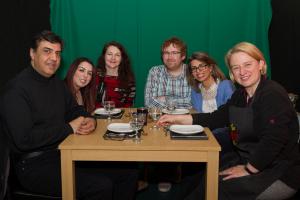 Guests at pilot Desi Kitchen episode