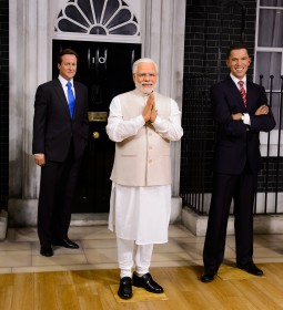 Prime Minister Narendra Modi Joins World Leaders at Madame Tussaud's London, London. Britain.