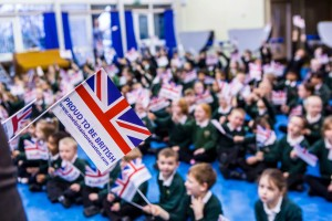 The project is a celebration of multicultural Britain