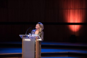Founder Jude Kelly speaking at WOW London in March 2016 (Credit: Alice the Camera 2016)