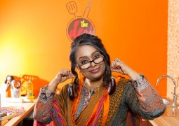Special guest cooks up a spicy feast at launch of AS TV show The Desi Kitchen
