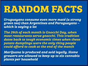 uraguay random facts