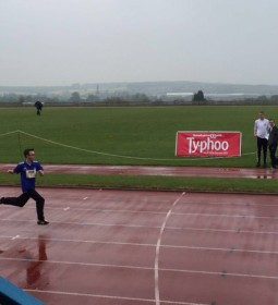 Although the weather was rainy, the day was far from a washout with over 250 athletes competing