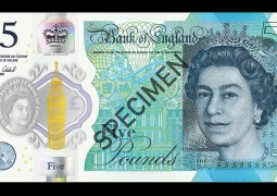 New Plastic £5 note Revealed by Bank of England is 'Untearable'
