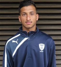 Bristol-born Hamza Ali, 20, played for MCC Young Cricketers and Hampshire CCC [Image credit: Hampshire CCC]