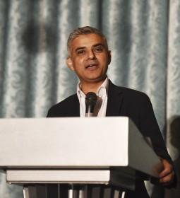 Sadiq Khan speaks during The British Asian Trust Iftar Evening at The Savoy Hotel  [Image Credit: Dave J Hogan]