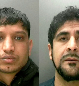 L:R - Zaheer Abbas, 30, and Sajad Hussain, 35, were found guilty of rape and sexual assualt