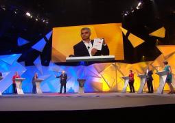 Sadiq Khan breaks fast live on stage during EU Referendum debate