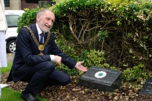 Bradford Lord Mayor Geoff Reid Remembering Srebrenica