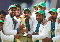 Pakistan beat India to win the ICC Champions Trophy
