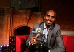 Mo Farah Wins The BBC Sports Personality of Year Award