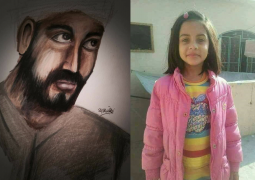 British Pakistani artist challenges police sketch of Zainab Ansari's murderer as inaccurate and releases her own in desperate urge to capture the killer.