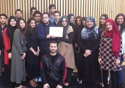 Classmates have well built in memory of late Bradford College student