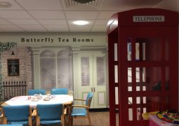 Hospital Opens Tea Rooms to Help Patients With Dementia