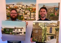 Kirklees landscape displayed in colourful paintings