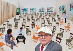 A few more days remain to view the famous David Hockney painting