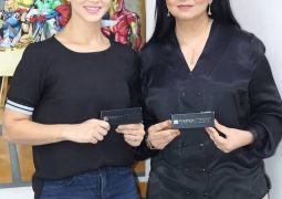 Local business woman teams up with Bollywood Star Sunny Leone