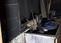 Fire crew support family after devastating fire
