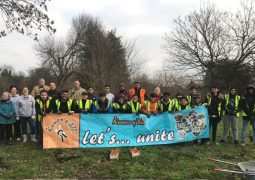 Charity organisations team up to plant bulbs in Dewsbury Country Park