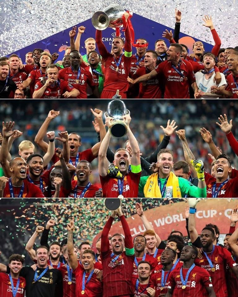 Jordan Henderson lifts Club world cup as Liverpool beat Flamengo 1-0 to be club World champions for the first time